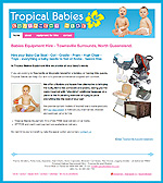 tropical babies hire website