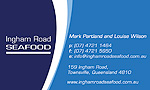 ingham road seafood  cards